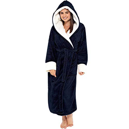 ➤Refill➤Bademantel mit Kapuze Baumwolle Morgenmantel Damen Herren Saunamantel Föhr einfarbig oder Sylt zweifarbig - Bademäntel für Damen