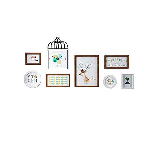 WUXK Les Pays Nordiques Mur Photo canapé Peinture Murale Le Salon Décoré dans Un Restaurant Moderne Minimaliste personnalité Créatrice Chambres Murs des couloirs,C