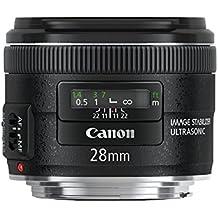 Canon EF 28mm f/2.8 IS USM - Objetivo para Canon (distancia focal fija 28mm, apertura f/2.8, estabilizador, diámetro: 58mm) color negro