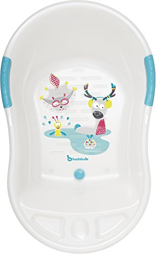 Badabulle Fun Ergonomic Bath, White