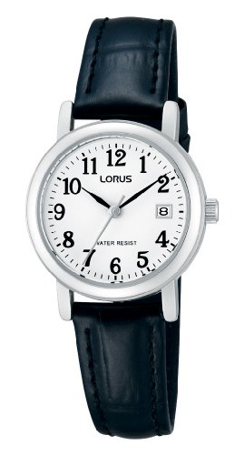Lorus Women's Quartz Watch Analogue Display and Leather Strap RH765AX9