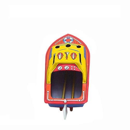 -Dampf angetriebene sammelbare Spielzeugboot-pädagogische bereiten Retro- Zinn-Boa aufMode Kerzenboot Bausatz Blech Vintage Boat Steam Powerd (A) ()