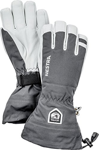 Hestra –  – Hestra Heli esquí Glove Army Leather – Guantes de...