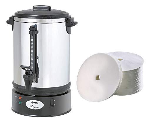 Bartscher Rundfilter Kaffeemaschine Regina Plus 90T + 250 Rundfilter