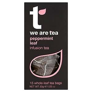 Nous sommes thé Feuille de menthe poivrée Teabag Carton 15 par paquet