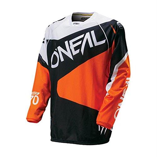 Preisvergleich Produktbild ONeal Hardwear Motocross / MTB Trikot Shirt 2016 Flow - schwarz / Orange: Größe Jersey: XXL