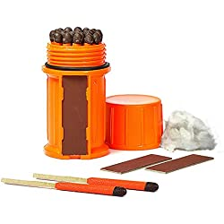 UCO Storm Proof - Kits de superviviencia, Color Naranja
