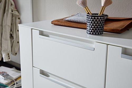 Paul DOWWA61024 Kommode, Holz, weiß, 41 x 100 x 87 cm - 6