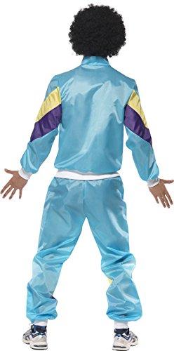 Smiffy's – 80er Jahre Kostüm für Herren Trainingsanzug Training Assianzug Assi in - 2