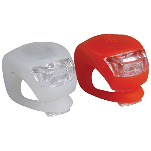 BTR Bicycle Silicone LED Front & Rear Bike Lights...