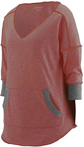 Augusta Sportswear Women'S Marvel Tee 2Xl Red/Slate -