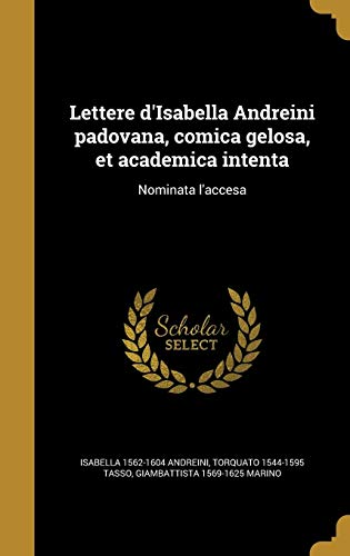 ITA-LETTERE DISABELLA ANDREINI
