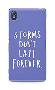 AMEZ storms dont last forever Back Cover For Sony Xperia Z3