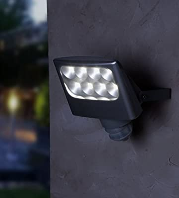 Led Außenstrahler Nevada 8 X 3w Pir von LED AUßENSTRAHLER NEVADA 8 X 3W PIR auf Lampenhans.de