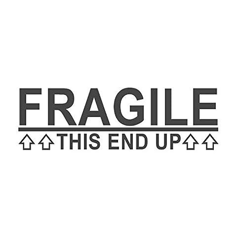 Fragile, dieses, Wortstempel