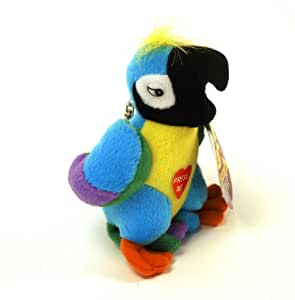 Swearing Parrot Joke Insulting Annoying Rude Keyring Keychain Adult Novelty Toy Stocking Filler