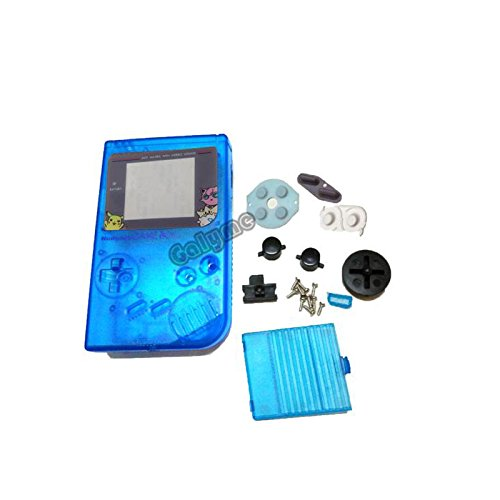Version für Game Boy Classic Game Ersatz Fall Kunststoff Shell Cover für Nintendo GB Konsole Gehäuse für GB Fall Hellblau Multi-Color ()