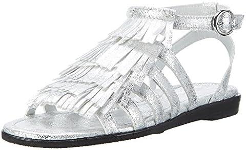 Gerry Weber Shoes Damen Jody 06 Riemchensandalen, Silber (Silber), 40 EU