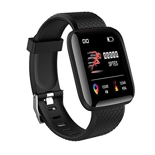 MATEYOU IP67 Fitness Tracker Fitness Tracker Uhr mit Aktivitäts-Tracker Schlaf Pulsmesser Schrittweite Kalorienzähler Schrittzähler Uhr für Kinder Männer Frauen