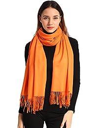 Ease Leap Pashmina Châle Wrap Pour Femmes Cachemire Hiver Chaud Écharpe  Hommes Grandes Écharpes Douces pour 372644a531f