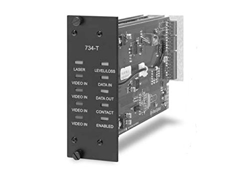 S7734DVR-RST1, Glasfaser Video Empfänger, Daten Sender, Empfänger, 4-Kanal, Rack, Single Mode Ifs Video