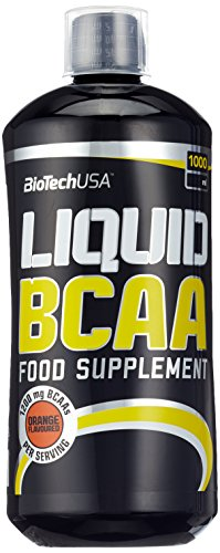 BioTech USA Liquid BCAA  Orange, 1er Pack (1 x 1 l)