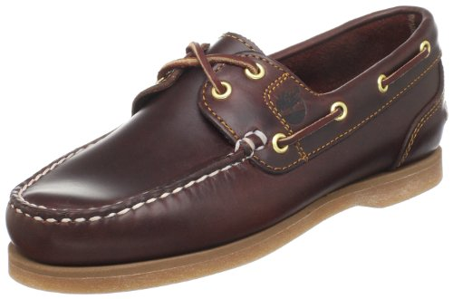 Timberland Classic Boat FTW Amhearst 2 Eye Boat 72333, Scarpe stringate basse donna, Marrone (Braun/Rootbeer Smooth), 41