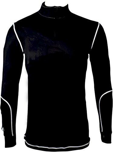 Tugga TG300/L Camiseta Calefactable, Hombre, Negro, L