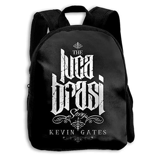 Okhagf Kevin Gates School Backpack Travel Bag for Boys and Girls -