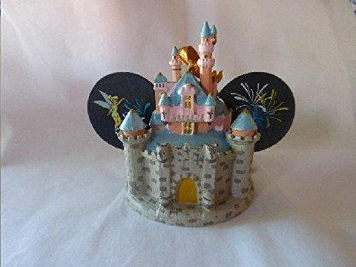Sleeping Beauty Castle Disney Mickey Ear Hat Ornament Light Up by Disney