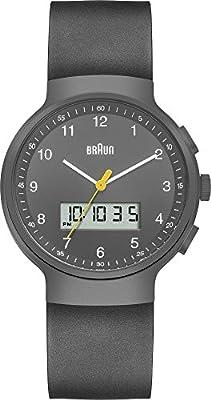 Braun BN0159SLBKBKG - Reloj de pulsera hombre, caucho