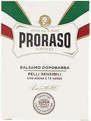 Proraso Balsamo Dopobarba Bianco per Pelli Sensibili, 100ml