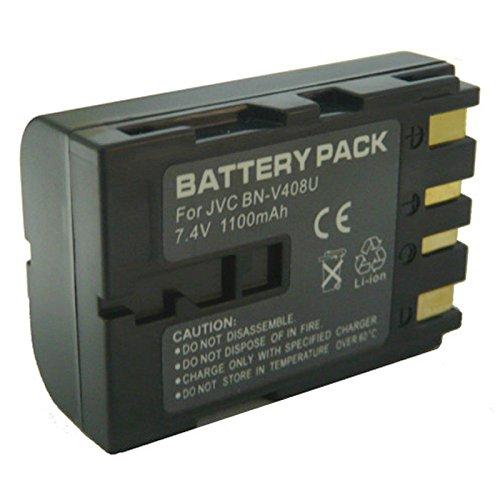 Amsahr Digital Replacement Camera and Camcorder Battery for JVC BN: V408, V408-H, V408U