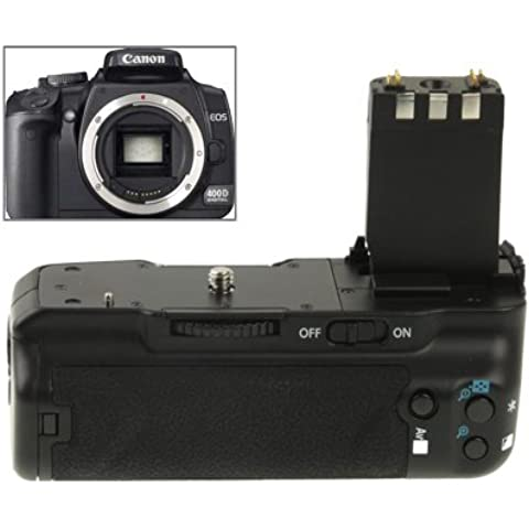 Battery Grip per Canon 400D 350D XT/Xti con One Battery Holder