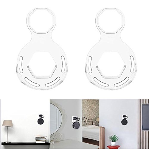 Tuzech 2 pcs Transparent Outlet support mural support