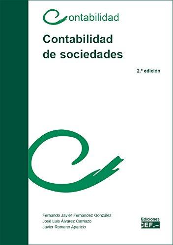 Contabilidad de sociedades por Fernando Javier Fernández González
