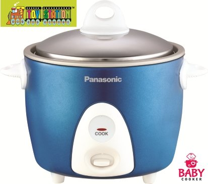 Panasonic Automatic Baby cooker/Steamer 0.3Kgs[1pc](Blue)