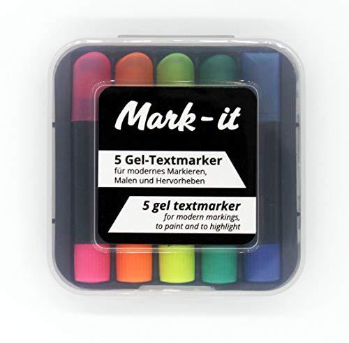 Mark it - Gel-Wax Textmarker
