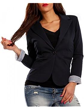 Damen Blazer Business Basic Kurzjacke