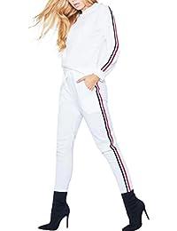gut Tropfenverschiffen ästhetisches Aussehen Suchergebnis auf Amazon.de für: jogginganzug damen - Weiß ...