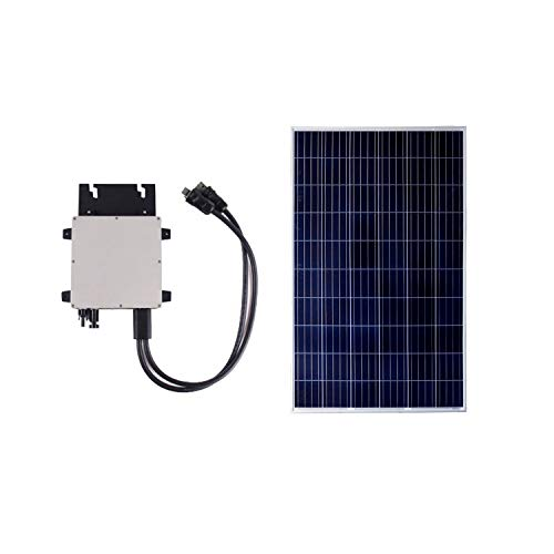 El Panel solar Policristalino 275W está formado por células de silicio policristalino que generan una destacada tensión eléctrica máxima de 32V.Este pack esta compuesto por 1 panel fotovoltaico de 275W + 1 Microinversor de 300W, también se incluye ta...
