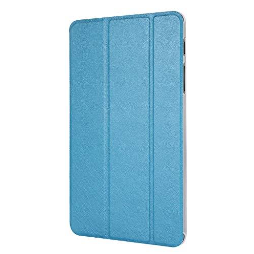 chutzhülle für Samsung Galaxy Tab A SM-P200 / P205 2019 (automatische Schlaf- / Wachmodus), dreifach faltbar, für Samsung Galaxy Tab A SM-P200 / P205 2019, Unisex, himmelblau ()