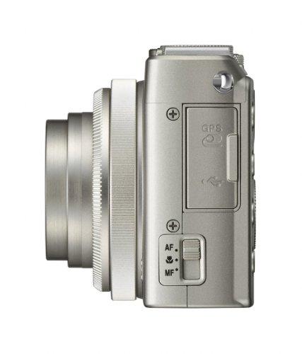 Nikon Coolpix A Digitalkamera (16 Megapixel, 7,6 cm (3 Zoll) LCD-Display, 28mm Weitwinkelobjektiv, Lichtstärke 1:2,8, Full HD Video) titan silber - 3
