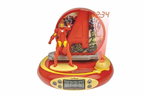 Lexibook rp510av Marvel, Batman, Schnee weiß, Dora, Spider Man, Thomas The Tank Engine Avengers Projektor Wecker