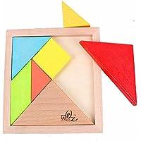 Preisvergleich für Hukangyu1231 Babyspielzeuge, pädagogische Spielwaren der Kinder Kinder-Früherziehung Lernspielzeug Produkte Großes Holz Puzzle der Intelligenz