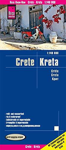 Reise Know-How Landkarte Kreta / Crete (1:140.000): reiß- und wasserfest (world mapping project) (Bund Gefaltet)