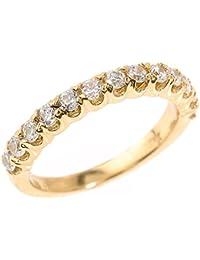 Little Treasures - 14ct Yellow Gold Stackable CZ Wedding Band
