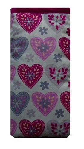 Coeurs violets et roses Imprimer Imprimer Chaussettes Apple iPod - DiffŽrentes tailles