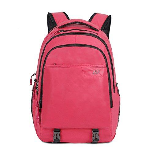 Puersit wasserdicht Laptop Rucksack Anti-Diebstahl Business Travel Computer Tasche 15.6 Zoll Red