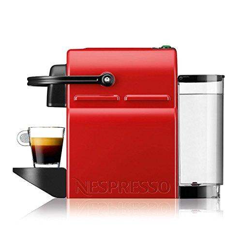Nespresso Krups Inissia XN1005   Cafetera de cápsulas   rojo